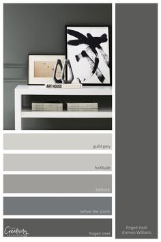 200 NEW Sherwin Williams Designer Influenced Paint Colors! Home Wall Colour, House Colors, Paint Colors For Living Room, Paint Colors For Home, One Coat Paint, Repose Gray, Sherwin William Paint, Brick Colors, Paint Line