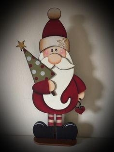 Christmas Makes, All Things Christmas, Christmas Crafts, Christmas Ornaments, Natal Design, Natal Country, Wood Crafts, Diy Crafts, Christmas Drawing