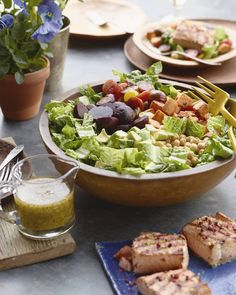 California Cobb Salad from www.whatsgabycooking.com (@whatsgabycookin)