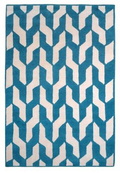 Cable Blue by The Rug Company | Wool Contemporary hand-knotted designer rugs