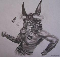 Картинки по запросу египетские боги тату эскизы