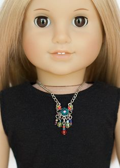 American Girl doll statement necklace  by EverydayDollwear on Etsy, $4.00