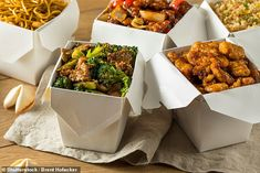 Dr Michael Mosley's recipes for one: Lose two stone in just three months with these meals One Person Meals, Meals For One, Recipes For One Person, Pate On Toast, Chinese Takeout Box, Chinese Food, Chinese Brown Sauce, 800 Calorie Meal Plan, Takeout Restaurant