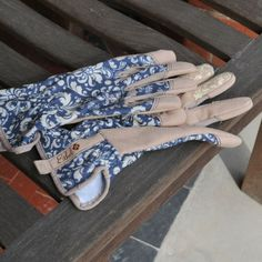 Perfect for gardeners who like to look good - the Ethel Jubilee Garden Gloves from the Garden Accessories range at Harrod Horticultural http://www.harrodhorticultural.com/garden-accessories-tcid139.html