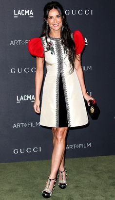 Gucci Gowns on the Red Carpet - Demi Moore