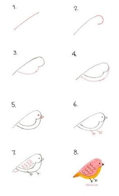 How to Draw a Bird by Anais Lee by iva