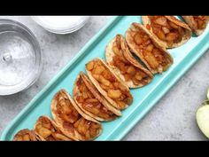 Easy Baked Apple Pie Tacos Recipe (With Video) | TipBuzz