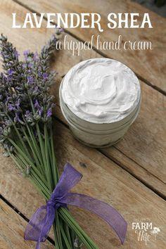 Lavender Shea Whipped Hand Cream
