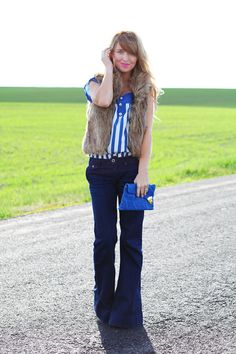 Fashion inspiration from The Day Book Blog with an Ellington Handbags Clutch | Throw back.