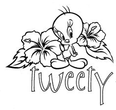 Coloringsco Coloring Pages Tweety Bird