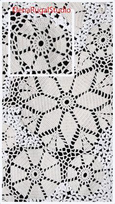 Crochet Flower Patterns, Lace Patterns, Crochet Flowers, Irish Lace, Flower Tutorial, Irish Crochet, Flower Making, Crochet Hooks, Simple Designs