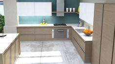 SALVIA Kitchen Dining, Kitchen Island, Kitchen Cabinets, Salvia, Kitchens, Home Decor, Island Kitchen, Decoration Home, Room Decor
