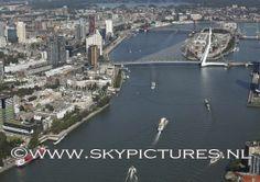 Nieuwe Maas met Erasmusbrug