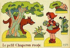 (vintage?) le petit chaperon rouge
