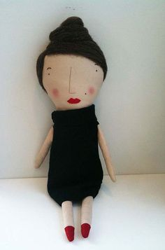 folk doll from uppercasegallery