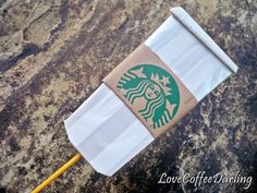 Starbucks Photo Booth Props  Set of Two by LoveCoffeeDarling, $4.00