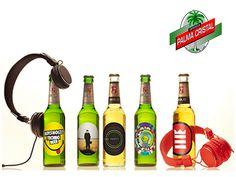 CERVEZA PALMA CRISTAL TE PLATICA ¿Qué cerveza les dio oportunidad a artistas y diseñadores para hacer distintas etiquetas? En 1987, la cerveza alemana Beck's comenzó a ofrecer a los artistas la oportunidad de realizar diseños para cambiar la etiqueta de la marca. Y estos artísticos diseños han llegado a estas botellas de edición limitada con la participación de artistas independientes relacionados con la música y el diseño gráfico. www.cervezasdecuba.com