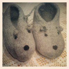 Tovet musetøfler.