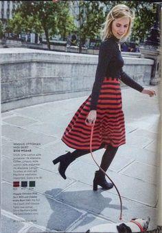 Boden Holiday Skirt