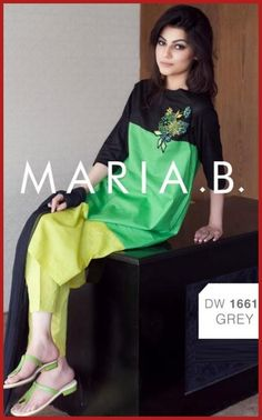 Latest Maria B Casual Wear Dresses  #MariaBDresses #DressesDesigns #DressesCollections