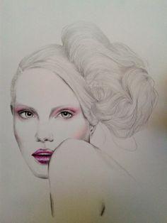 fashion illustration by me