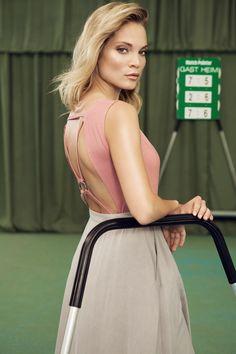 Body Nanna, Skirt-Trousers Nea | Andrea Sauter Swiss Fashiondesign | Spring/Summer 2017 | Photo by Ellin Anderegg