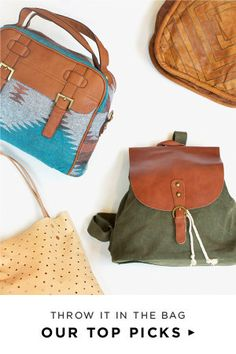 Find your Fall bag!