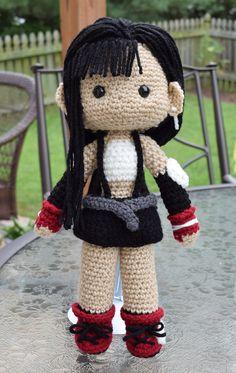 Final Fantasy VII | Tifa Lockhart doll by featheredshaft.deviantart.com on @DeviantArt