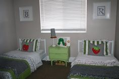retropolitan. This is the most precious room! The Very Hungry Caterpillar theme!!!