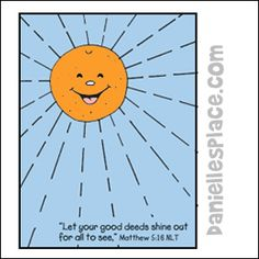 Shiney Orange Fruit of the Spirit Craft and Activity Sheet for Bible School from www.daniellesplace.com