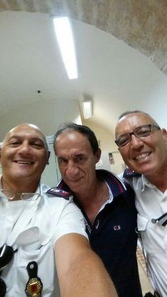 Con Nicola Porcelli e Rino Amoruso.
