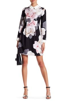 43ed0de2cea1 Stunning Ted Baker London Lascii Porcelain Rose Collar Dress Ted Baker  Outfit