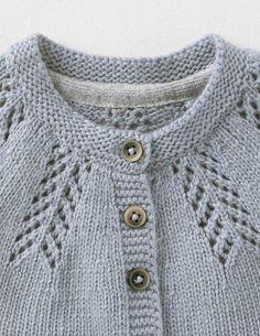 Cozy Baby Cardigan 71528 Knitwear at Boden Baby Cardigan Knitting Pattern Free, Baby Sweater Patterns, Crochet Baby Cardigan, Knit Baby Sweaters, Baby Knitting Patterns, Knitting Designs, Crochet Hats, Booties Crochet, Cardigan Bebe