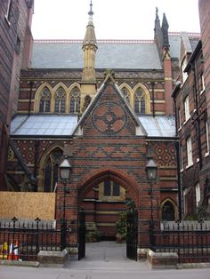 Architecture: All Saints Church; London, England – William Butterfield; Early Gothic Revival