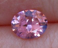 Precision Cut Pink Luc Yen Spinel by JuliaBJewelry on Etsy