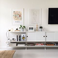 Living room inspiration | String Shelving available at www.istome.co.uk