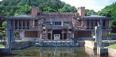 Devastated by earthquale and WWII. Location: Inuyama, Aichi, Japan. Frank Lloyd Wright Died 55 Years Ago, But His Legacy Lives On In These Stunning Buildings