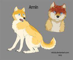 Snk Wolves - Armin by Nicicia.deviantart.com on @deviantART