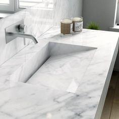 Carrara, Washroom, Decoration, Architecture, Basin, Small Bathroom, Living Room Designs, Tennessee, Tiles