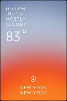 Solar Weather / Weather