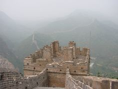 Smog over the great wall