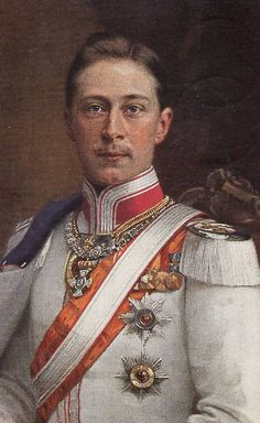 The German Crown Prince Wilhelm (Friedrich Wilhelm Victor August Ernst)  (1882-1951) in 1882. He was the last Crown Prince of the Kingdom of Prussia & the German Empire. Husband of Duchess Cecilie Auguste Marie of Mecklenburg-Schwerin, Germany (1886-1954). Son of Wilhelm II, the last German Emperor (1859–1941) and his 1st wife Princess Augusta Viktoria of Schleswig-Holstein (1858–1921).