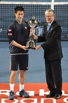 Kei Nishikori Photos - Rakuten Open 2014 - Day Seven - Zimbio