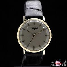 Longines 1円 ジャンク LONGINESロンジン手巻14K張りアンティーク 時計 Watch Antique ¥1yen 〆07月11日