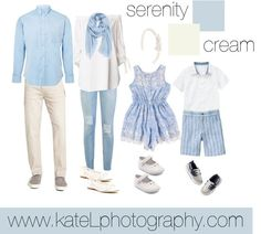 Serenity + Cream // Family Outfit