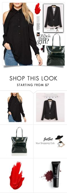 """""""JetSet shop!"""" by samra-bv ❤ liked on Polyvore featuring Carbotti, Maybelline, Inglot, Bobbi Brown Cosmetics, Fall, chic, bag and autumn"""