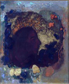 Odilon Redon, Portrait of Paul Gauguin, 1903-1906 Paris, Musée d'Orsay / Art Blart