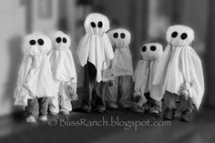 how to make wee ghost kids