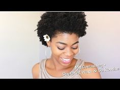 My Cowashing + Stretched Wash & Go Routine (ft. Shea Moisture) - 4C Natural Hair - (Requested)