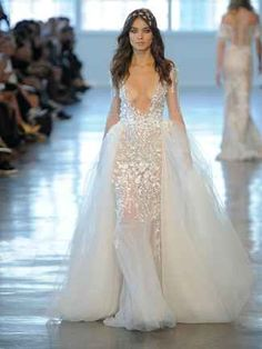 Most Daring Wedding Dresses From Bridal Fashion Week | TheKnot.com